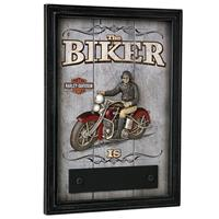 Fiftiesstore Harley-Davidson Biker In/Out Bar Deco Bord - LAATSTE KANS