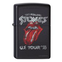 Fiftiesstore Zippo Aansteker The Rolling Stones U.S. Tour78