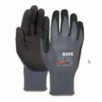 Handschoen M-Safe Nitrile Microfoam 14-690 zwarte super lichte...