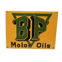 Fiftiesstore BP Motor Oils Emaille Bord