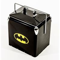 Fiftiesstore Batman Logo Retro Cooler - Koelbox