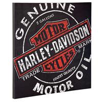 Fiftiesstore Harley-Davidson Oil Can Canvas Print