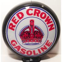 Fiftiesstore Red Crown Gasoline Benzinepomp Bol