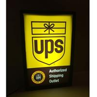 Fiftiesstore UPS Authorized Shipping Outlet Lichtbak