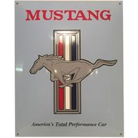 Fiftiesstore Ford Mustang Emaille Bord