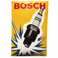 Fiftiesstore Bosch Spark Plug Bougies Emaille Bord 60 x 40 cm