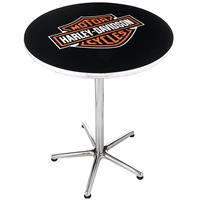 Fiftiesstore Harley-Davidson Bar & Shield Cafe Tafel