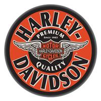 Fiftiesstore Harley-Davidson Winged Bar & Shield Statafel