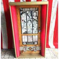 Fiftiesstore Exhibit Supply Company Movie Card Vending Machine Coin Operated
