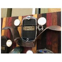 Fiftiesstore Ford Model A Grille En Zijbumpers - Origineel