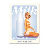 Fiftiesstore Milk Feel Natural - Be Natural Magneet