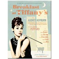 Fiftiesstore Audrey Hepburn's Breakfast At Tiffany's Magneet