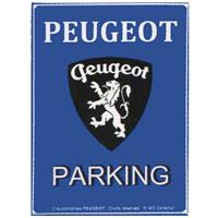 Fiftiesstore Peugeot Parking Only Magneet