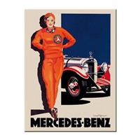 Fiftiesstore Mercedes-Benz Retro Magneet