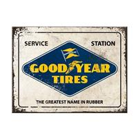 Fiftiesstore Goodyear Tires Magneet