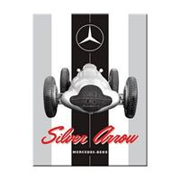 Fiftiesstore Mercedes-Benz Silver Arrow Magneet
