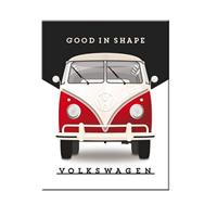 Fiftiesstore Volkswagen Good In Shape Magnet