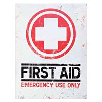 Fiftiesstore First Aid - Emergency Use Only Magneet