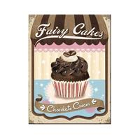 Fiftiesstore Fairy Cakes Chocolate Cream Magneet