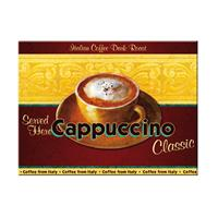Fiftiesstore Cappuccino Classic Served Here Magneet