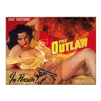 Fiftiesstore The Outlaw Jane Russell Magneet
