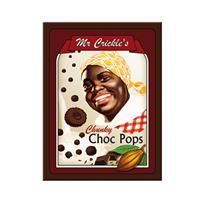 Fiftiesstore Mr. Crickle's Choc Pops Retro Magneet