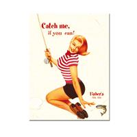 Fiftiesstore Catch Me If You Can pin-up Magneet