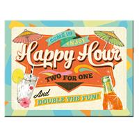 Fiftiesstore Happy Hour Magneet