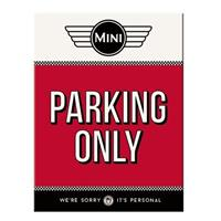 Fiftiesstore Mini Parking Only Magneet