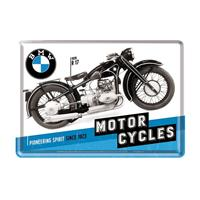 Fiftiesstore BMW Motor Cycles Metalen Postkaart