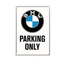 Fiftiesstore BMW Parking Only Metalen Postkaart