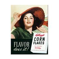 Fiftiesstore Kellogg's Flavor Does It Magneet