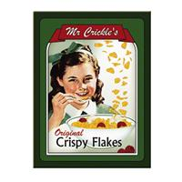 Fiftiesstore Mr. Crickle's Original Crispy Flakes Magneet