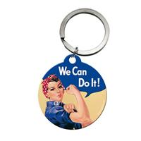 Fiftiesstore We Can Do It Keychain