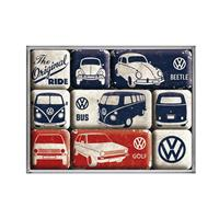 Fiftiesstore Magneet Set VW The Original Ride