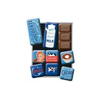 Fiftiesstore Magneet Set Chocolate Addicted