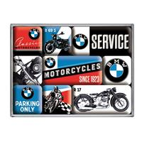 Fiftiesstore BMW Motorcycles Magneet Set