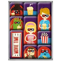 Fiftiesstore Movie Time Magneet Set