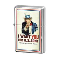Fiftiesstore I Want YOU For U.S. Army Aansteker