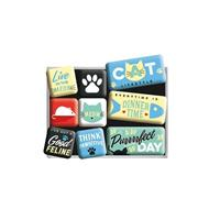 Fiftiesstore Magneet Set Cat Lifestyle