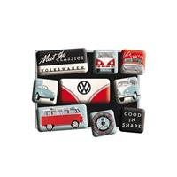Fiftiesstore Magneet Set Volkswagen Meet The Classics