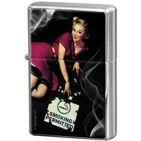 Fiftiesstore Pin-Up Girl Smoking Permitted Aansteker