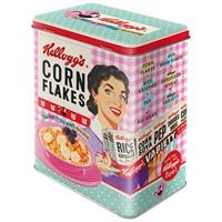 Kellogg's Cornflakes Happy Hostess Tinnen Blik