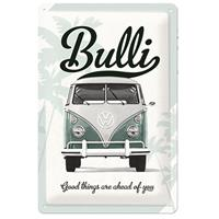 Fiftiesstore Tin SignVW Good Things Are Ahead Of You' 20 x 30 cm
