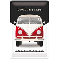 Fiftiesstore Volkswagen Good Shape Metalen Bord 20 x 30 cm