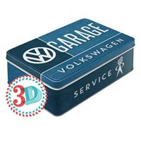 Fiftiesstore VW Volkswagen Garage Tin Box Flat
