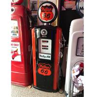 Fiftiesstore Bennett Phillips 66 Benzinepomp - Gerestaureerd