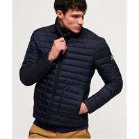 Superdry Winterjas Double Zip Fuji Navy