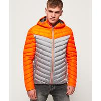 Superdry Chevron Colour Block Down jas