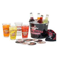 Fiftiesstore The Busted Knuckle Garage Pint Glass Party Bucket Set
